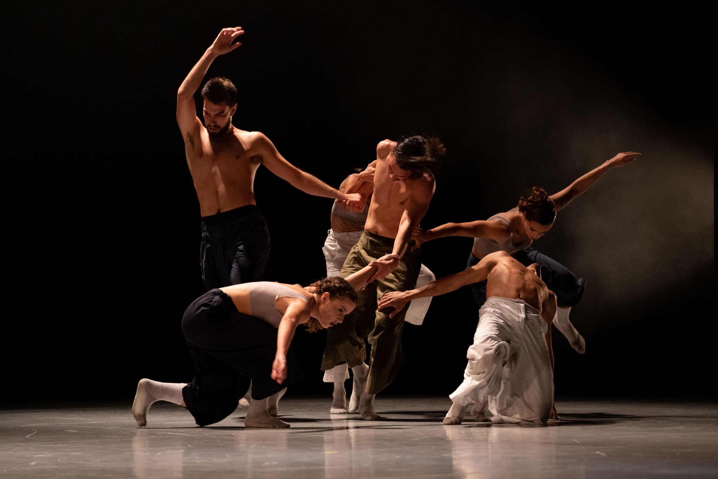 Picture of our piece Anhelo as performed at Tenerife
